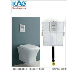KAG Tiles ABS Concealed Flush Tank, For Home, Hotel, Model Name/Number: Cft
