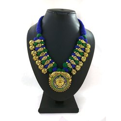Meenakari Kolhapuri Fancy Necklace