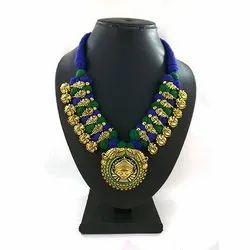 Meenakari Kolhapuri Fancy Necklace