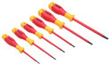 Flat Insulated VDE Slotted Screwdriver
