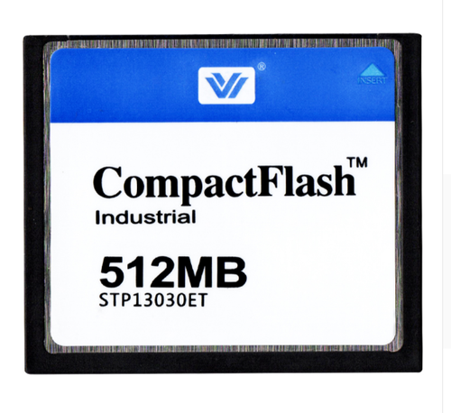 512mb Compact Flash Memory Card Industrial, Dimension/size: 42.8mm X 36.4mm X 3.3mm