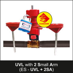 Universal Valve Lockout With 2 Small Arm