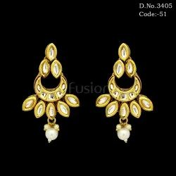 Ethnic Kundan Earrings