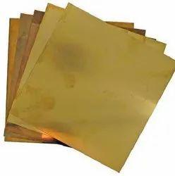 Brass Sheet, 0.30mm - 6.00mm