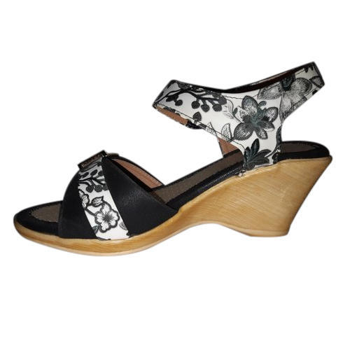 6b64b294bbe Polymer Party Wear Platform Heel Sandals