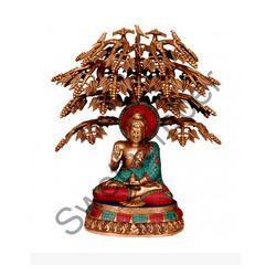 Brass Buddha Tree