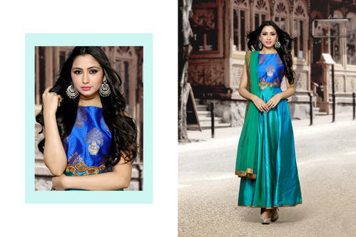 a0f9b563d2 Paper Silk Salwar Suit at Rs 1525 /piece | Garib Nawaz Nagar | Surat ...