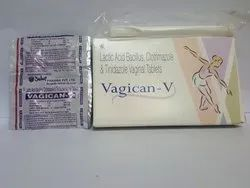 Vegican-V Allopathic Clotrimazole Tablets, For Antifungal, Packaging Type: Strips