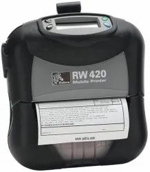 Zebra RW420 Wireless Mobile Printer, Resolution: 203 DPI (8 Dots/Mm)