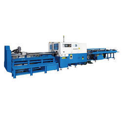 SA-77NC-CL Solid Bar and Heavy Wall Cutting Machine