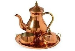 Copper Tea Set