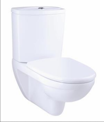 Kohler odeon wall hung toilet with exposed tank with quiet-close seat and cover