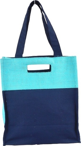 Jute Hessian Colourful Shopping Bag Large Natural /& Eco Friendly Bags