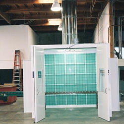 Glass Paint Booth
