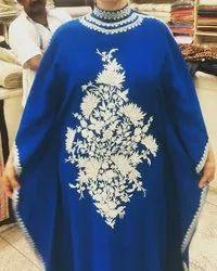 Embroidery Woolen Kaftan