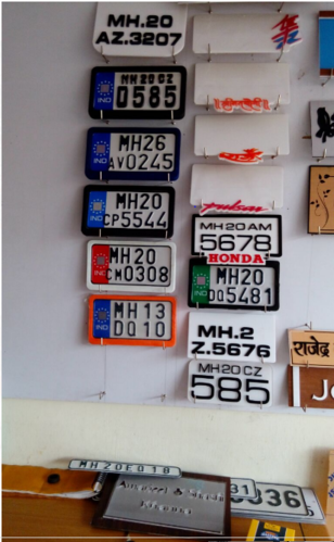Glow Number Plate Number Plate Service Provider From