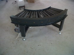 Powered Roller Conveyor System (90 Degree )
