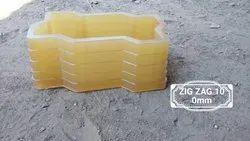 Zigzag 100 mm PVC Paver Mould