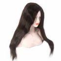 Indian Human Hair Semi Parting Mix Hair  Wig