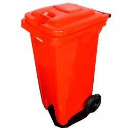 Wheel Barrow Dustbin 180 Liter