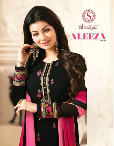 c948744a59 Shaziya Aleeza Vol-2 Wholesale Straight Long Designer Suits ...