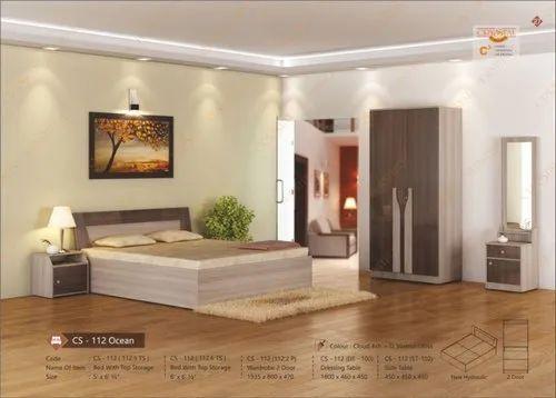 Wooden Bedroom Furniture CS-112-Ocean