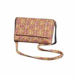 Multicolor Printed Ladies Sling Bag, Packaging Type: Packet