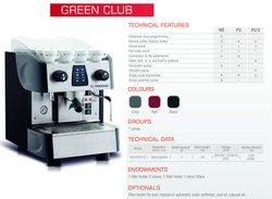 Promac Siingle Group Coffee Machine