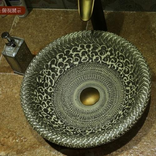 Designer Handmade Wash Basins   Bathroom Ceramic Sink Importer From Nagpur