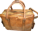 Retro Look Leather Travel Bag
