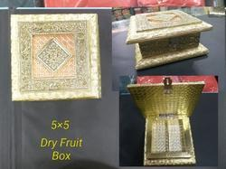 5x5 inch Wooden Dry Fruit Box