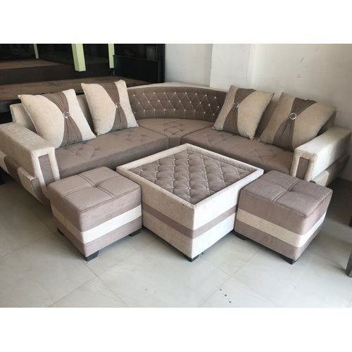 Modern Designer L Shape Sofa Set For, Living Room L Shaped Sofa