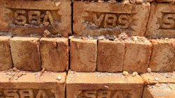 Rectangular Red Clay Bricks, Size: 9