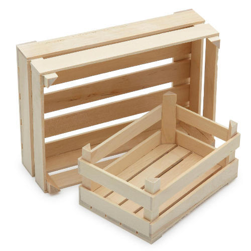 Fruit Wooden Crate At Rs 750 Piece