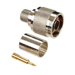 1 Stainless Steel Male Connector LMR 400, for Telecom/Data/Network