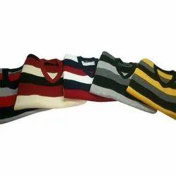 V Neck Men's Casual Pullover Sweater