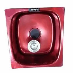 Color Coated SS Kitchen Sink