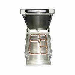 Multi Compartment Tray Sealer Machine