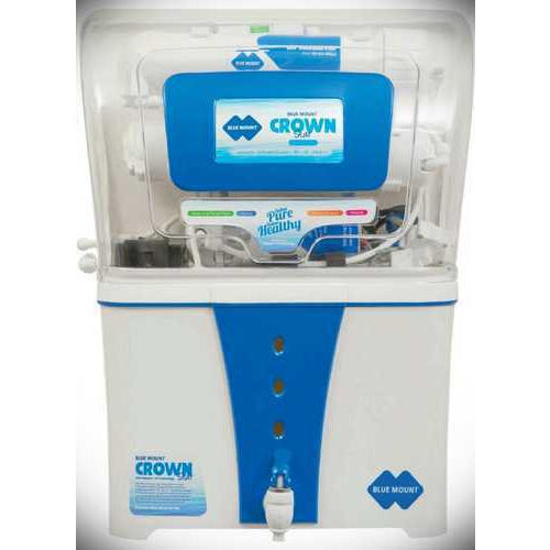 ABS Plastic Bluemount RO Water Purifier, Capacity: 7.1 to 14 L