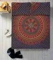 Cotton Printed Elephant Mandala Double Duvet Rajai Cover