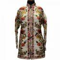 Multicolour Kashmiri Hand Embroidered Jacket