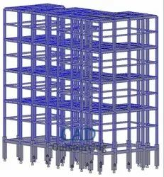 Rebar Structure Steel Detailing Services