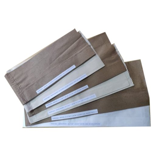 Plain Brown Paper Bags, for Packaging, Capacity: 500gm - 7 kg