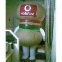 Vodafone Inflatable Pramotional Walking Balloon