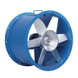 1.1KW Mild steel Axial Flow Fan Or Exhaust system, Impeller Size: 24 Inch, Capacity: 900 Cfm