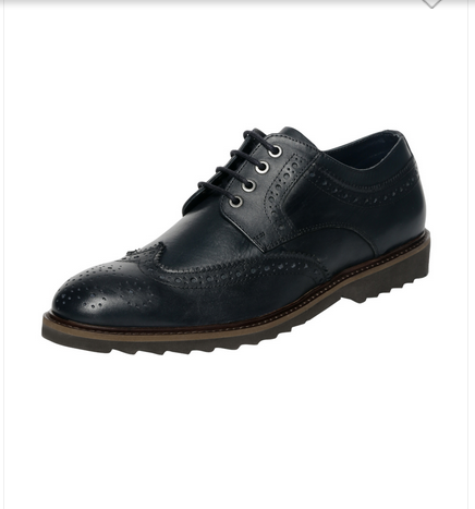 02ae2cc5749 Men Party Wear Van Heusen Navy Lace Up Shoes