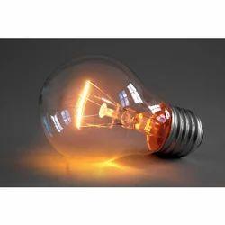Fluorescent Electric Lighting Bulb