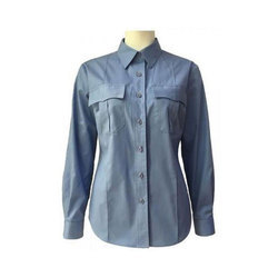 Cotton Ladies Full Sleeve Shirt