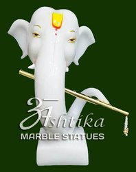 Marble Modern Ganesh Statue