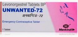 Unwanted 72 Levonorgestrel Tablets BP